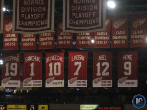 Joe Louis Retired jerseys