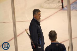 Coach Noel practice