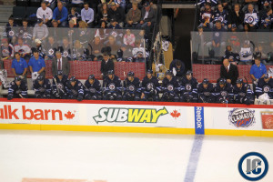 Jets bench (Sept 19, 2013)