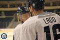 Ladd and Little at practice