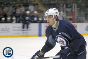 Mark Scheifele at Training Camp Day 1