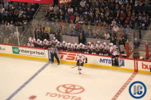 Sens bench (Sept. 15, 2013)
