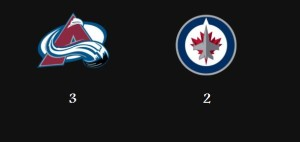Avalanche beat Jets
