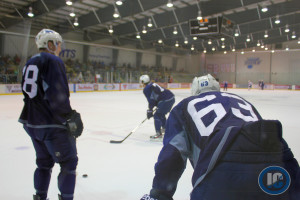 Chiarot looks on at Development Camp