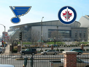 Jets at Blues