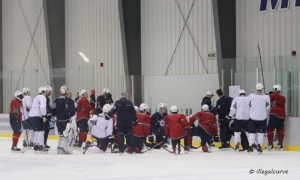 Practice at IcePlex on Oct 9, 2013