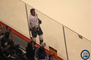 Selanne soaks up atmosphere