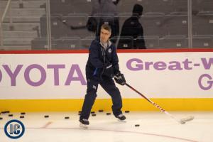 Coach Noel at practice
