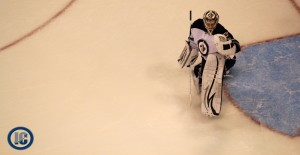 Pavelec makes the save