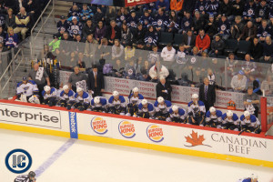 Blues bench (Dec 10, 2013)