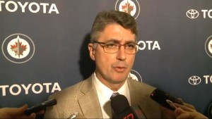 Coach Noel post-game (Jets beat Rangers)