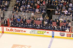 Jets bench (December 12, 2013)
