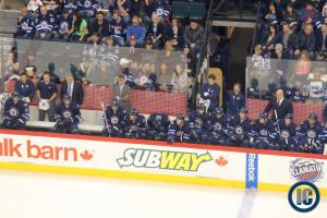 Jets bench (December 20, 2013)
