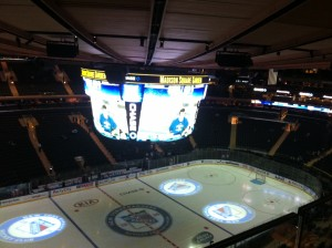 MSG as Jets beat Rangers
