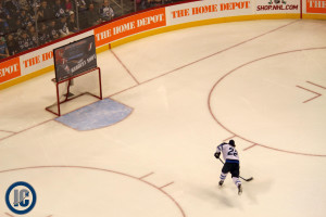 Chris Thorburn hardest shot