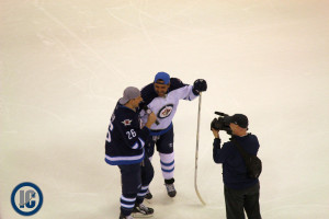 Wheeler interviews Byfuglien