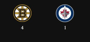 Bruins beat Jets