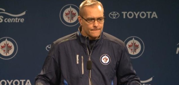 Coach Maurice post-practice
