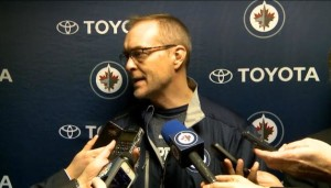 Coach Maurice pre-game (January 23, 2014)