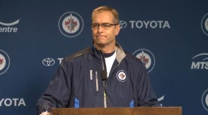 Coach Maurice scrum (Jan 30, 2014)