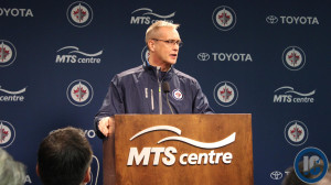 January 13, 2014 Coach Paul Maurice