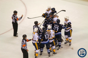 Jets and Preds scrum