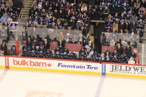 Jets bench (January 13, 2014)