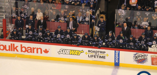 Jets bench (January 28, 2014)
