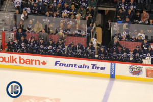 Jets bench (January 7, 2014)
