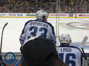Jets vs. Bruins - Dustin Byfuglien