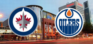 Oilers at Jets