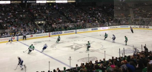 Jets at Stars (2-1 loss)