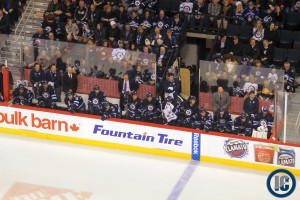 Jets bench (March 12, 2014)