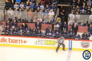 Jets bench (March 16, 2014)