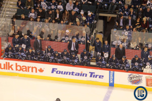 Jets bench (March 6, 2014)