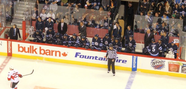 Jets bench (March 8, 2014)