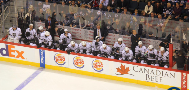 Kings bench (March 6, 2014)