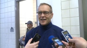March 26, 2014 Coach Maurice