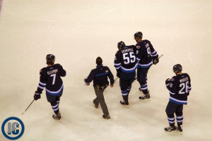 Scheifele heads to room