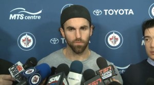April 13, 2014 Andrew Ladd end of season interview
