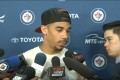 April 13, 2014 Evander Kane end of season interview