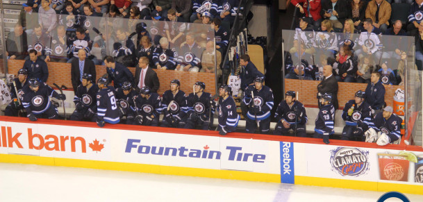 Jets bench (April 10, 2014)