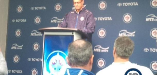 Coach Maurice first presser of 2014-15