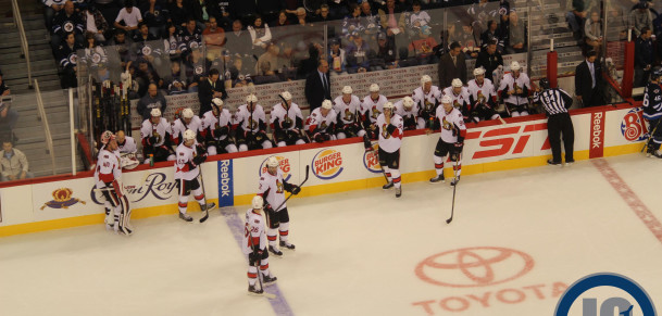 Senators bench (September 30, 2014)