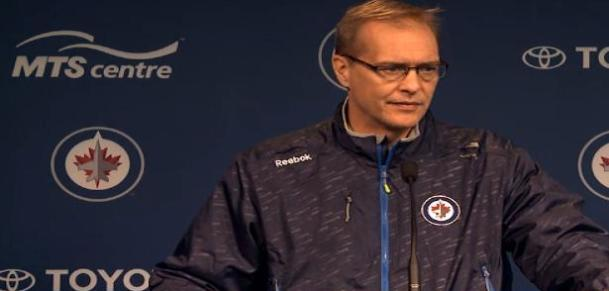 September 21, 2014 Coach Maurice pre-game
