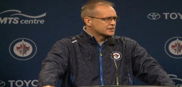 Coach Maurice (Oct 19, 2014)