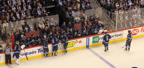 Jets bench (October 19, 2014)