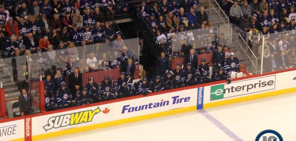 Jets bench (October 21, 2014)