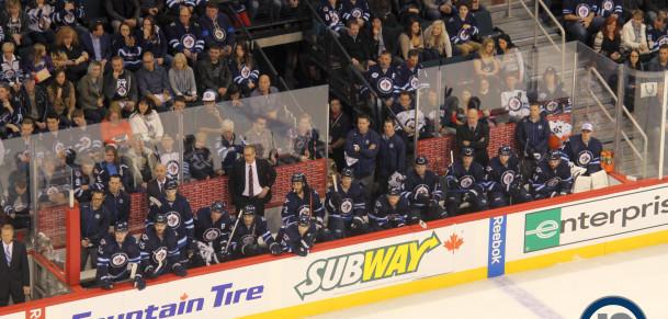 Jets bench (October 24, 2014)