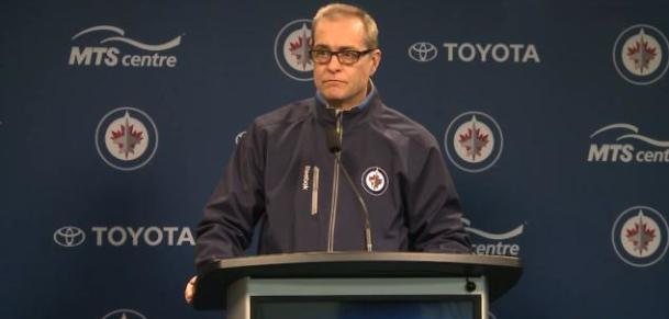 Coach Maurice scrum (December 2014 new glasses)